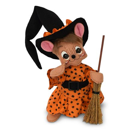 Annalee Dolls 6in 2018 Halloween Spider Witch Mouse Plush New with Tags