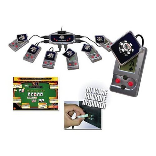 Excalibur Texas Hold 'Em Plug & Play with BONUS Keychain Game by DB ROTH