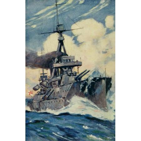 - The British Navy Book 1915 Britains Sure Shield Canvas Art - Unknown (18 x 24)