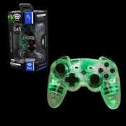 PDP Afterglow Wireless Controller For Sony PlayStation 3, Green