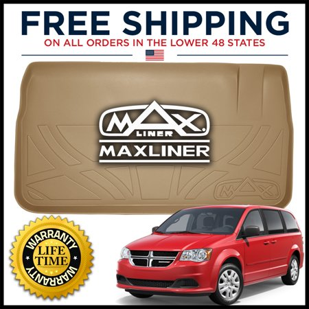 MAXTRAY 2008-2019 Grand Caravan/Town & Country Cargo Liner Behind 3rd Row TAN