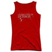 Amityville Horror Flies Juniors Tank Top Shirt