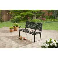 Deals on Mainstays Steel Bench MS16-301-001-11