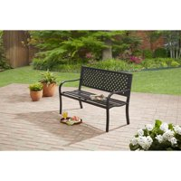 Mainstays Steel Bench - Black