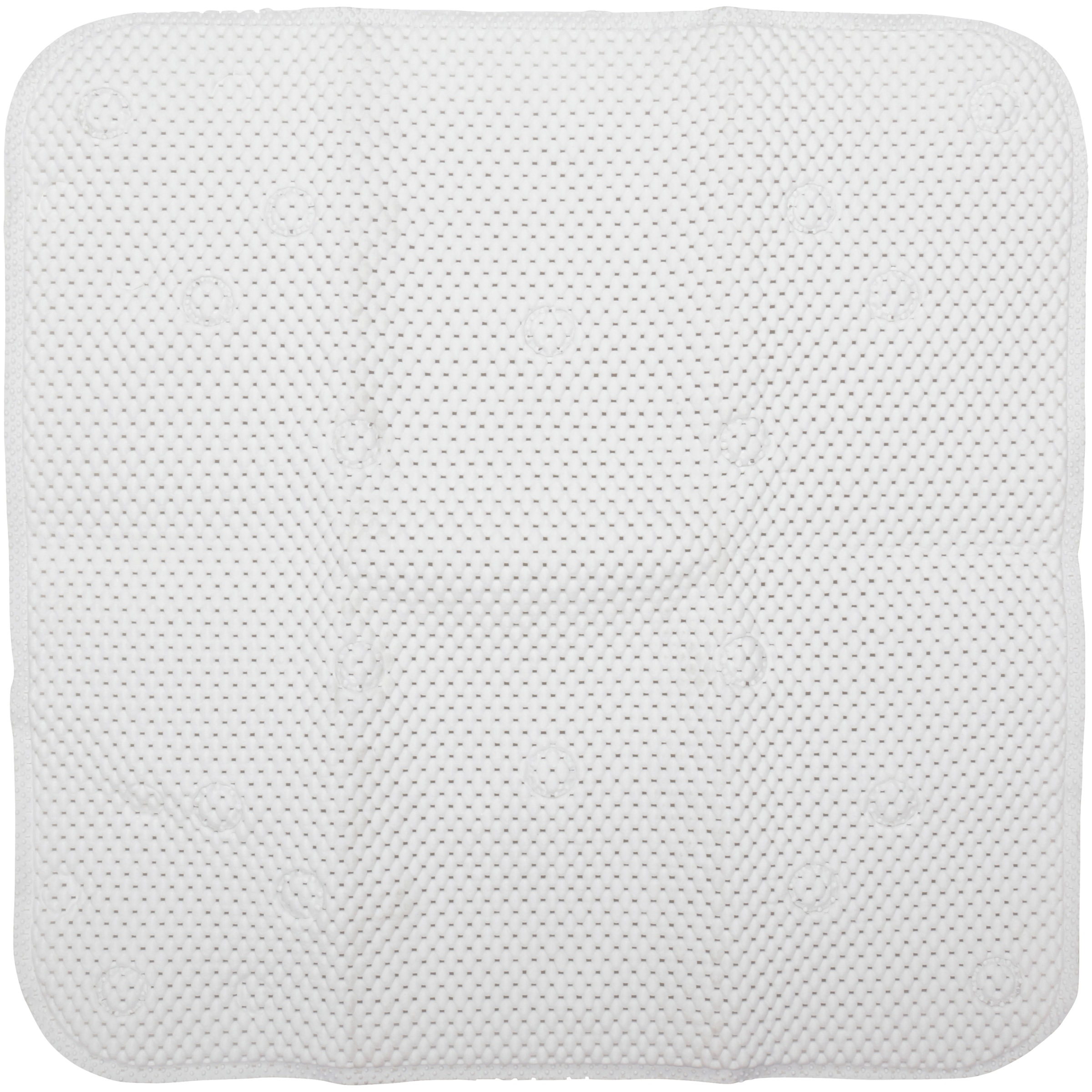 Con-Tact® Decorative Grip White Shower Mat Carded Pack