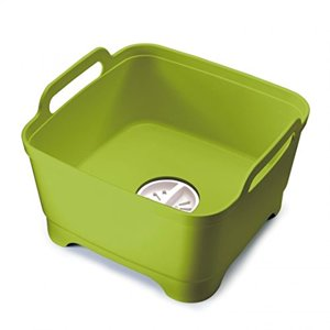 Joseph Joseph Wash&Drain Washing Up Bowl - Green