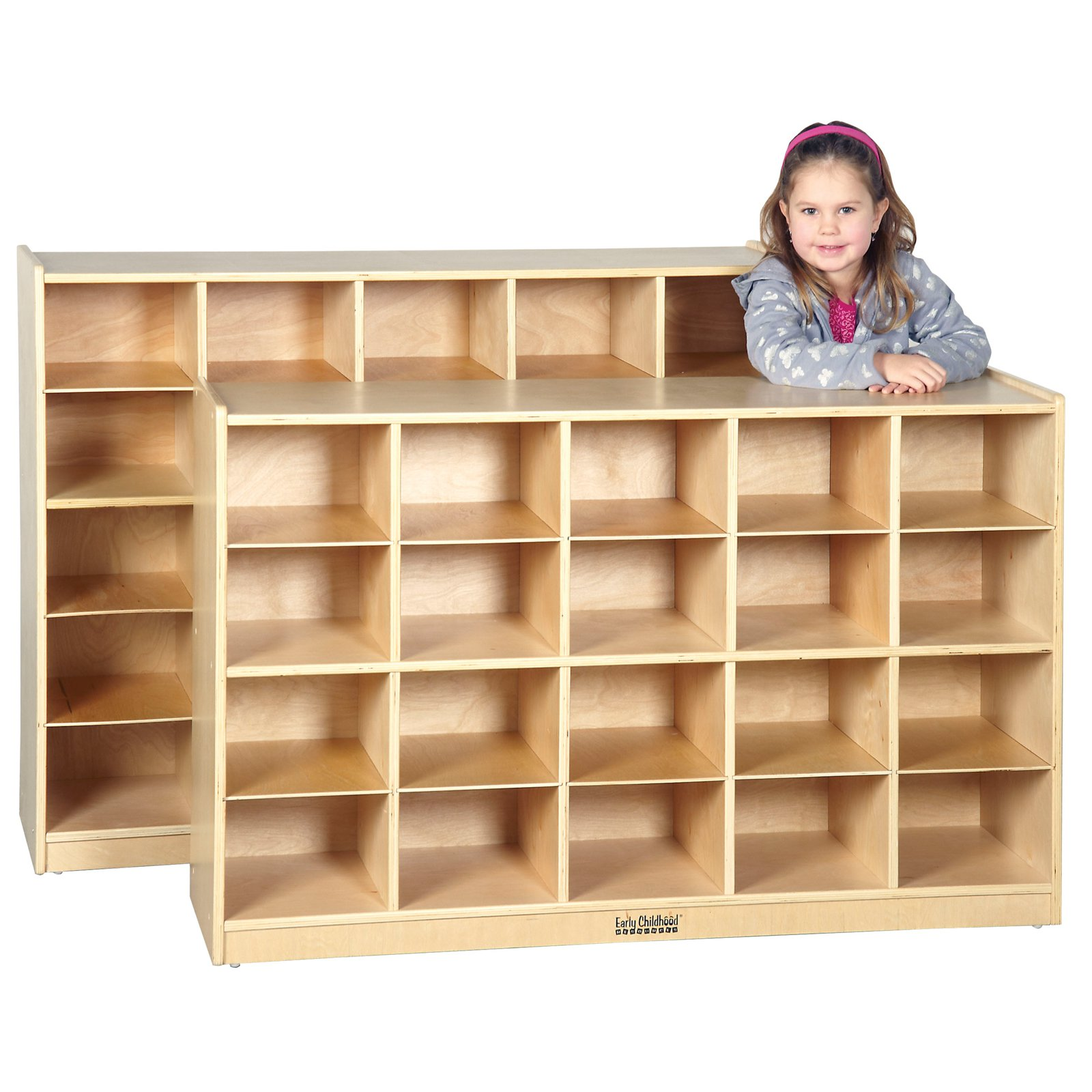 ECR4Kids Cabinet 20 Compartment Cubby by Early Childhood Resources