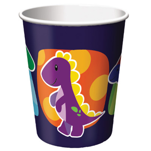 Little Dino Party 9 oz Hot/Cold Cups - 375546