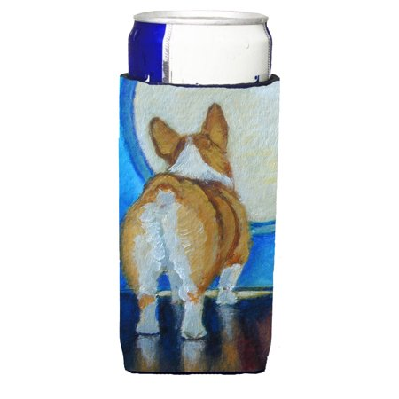 Corgi Butt Michelob Ultra beverage Insulator for slim cans 7426MUK