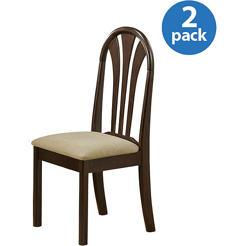 Stockholm Traditional Dining Chair, Set of 2, Espresso