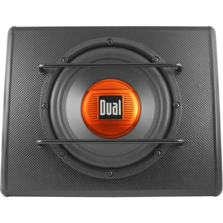 dual alb10 10 subwoofer ported enclosure 300w walmart com dual alb10 10 subwoofer ported enclosure
