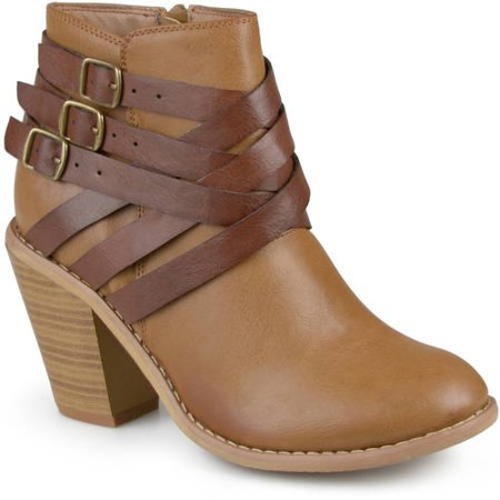 Brinley Co. Women's Ankle Multi Strap Boots (Brinley Co Womens Ankle Multi Strap Boots)