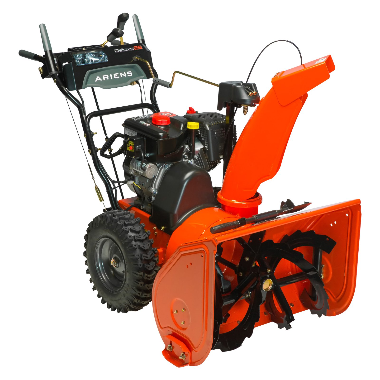 Ariens Deluxe 28 in. 2-Stage Electric Start Gas Snow Blower with Auto-Turn Steering by