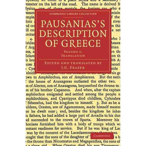 Pausanias's Description of Greece - Volume 1