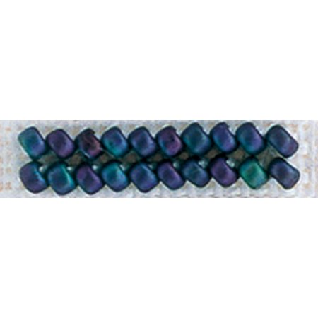 Mill Hill Antique Glass Seed Beads 2.63 Grams/Pkg-Wild Blueberry