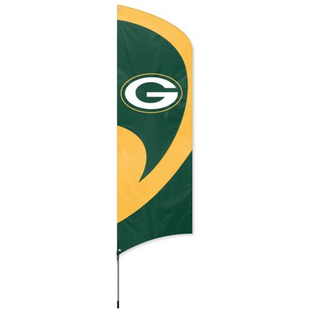 Steelers Tall Team Flag with Pole