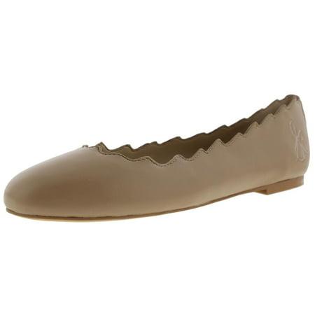 2ebaf8cb2dcf9 Sam Edelman Womens Francis Scalloped Ballet Flats - Walmart.com