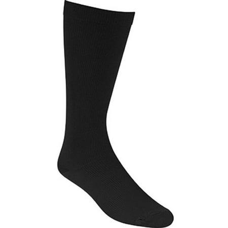 Unisex's Propet Preferred Medi Pro 6 Pack Socks BLACK M