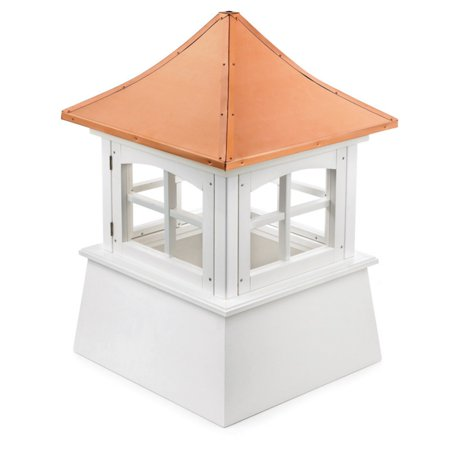 Good Directions Windsor Vinyl Cupola with Copper Roof - 22