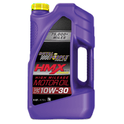Royal Purple HMX Synthetic SAE 10W-30 High Mileage Motor Oil, 5 Quarts