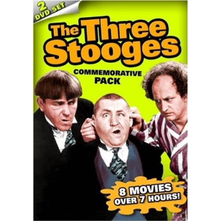 THREE STOOGES COMMEMORATIVE PACK (DVD/2 DISC)-NLA! (DVD) - Three Stooges Halloween