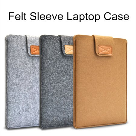 13 inch Ultra Thin Laptop Felt Sleeve Case Cover Bag For MacBook Pro/Air 13'' (13 Inch Bag)