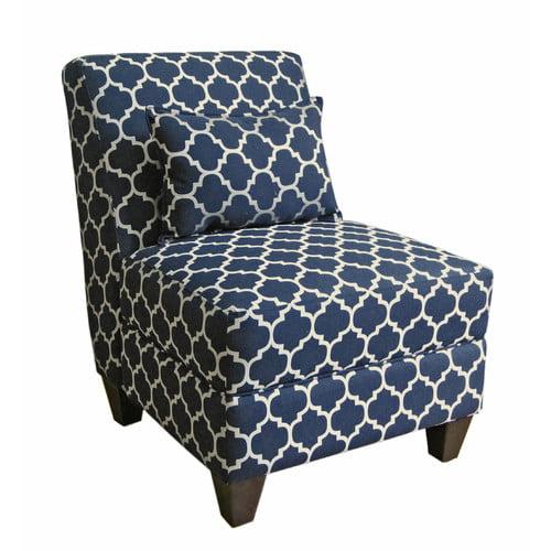 HomePop Charlotte Accent Slipper Chair