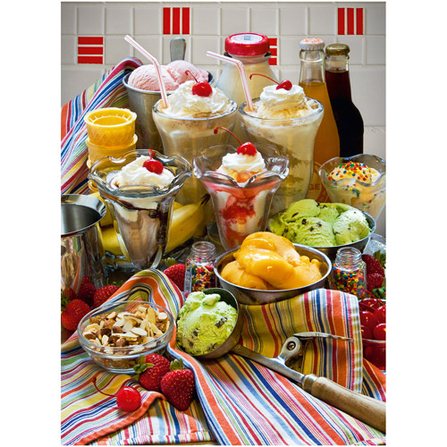 Ravensburger Just Desserts Puzzle, 500 Pieces