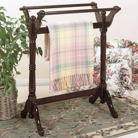 Powell Heirloom Cherry Blanket Rack