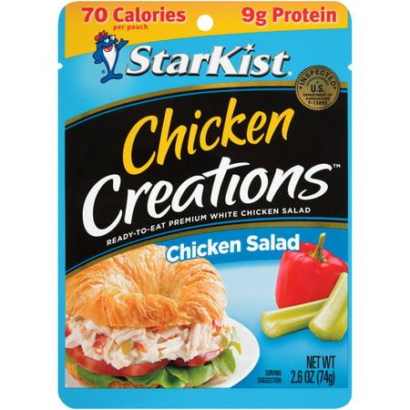 Chicken Chicks - (3 Pouches) StarKist Chicken Creations Chicken Salad, 2.6 oz.