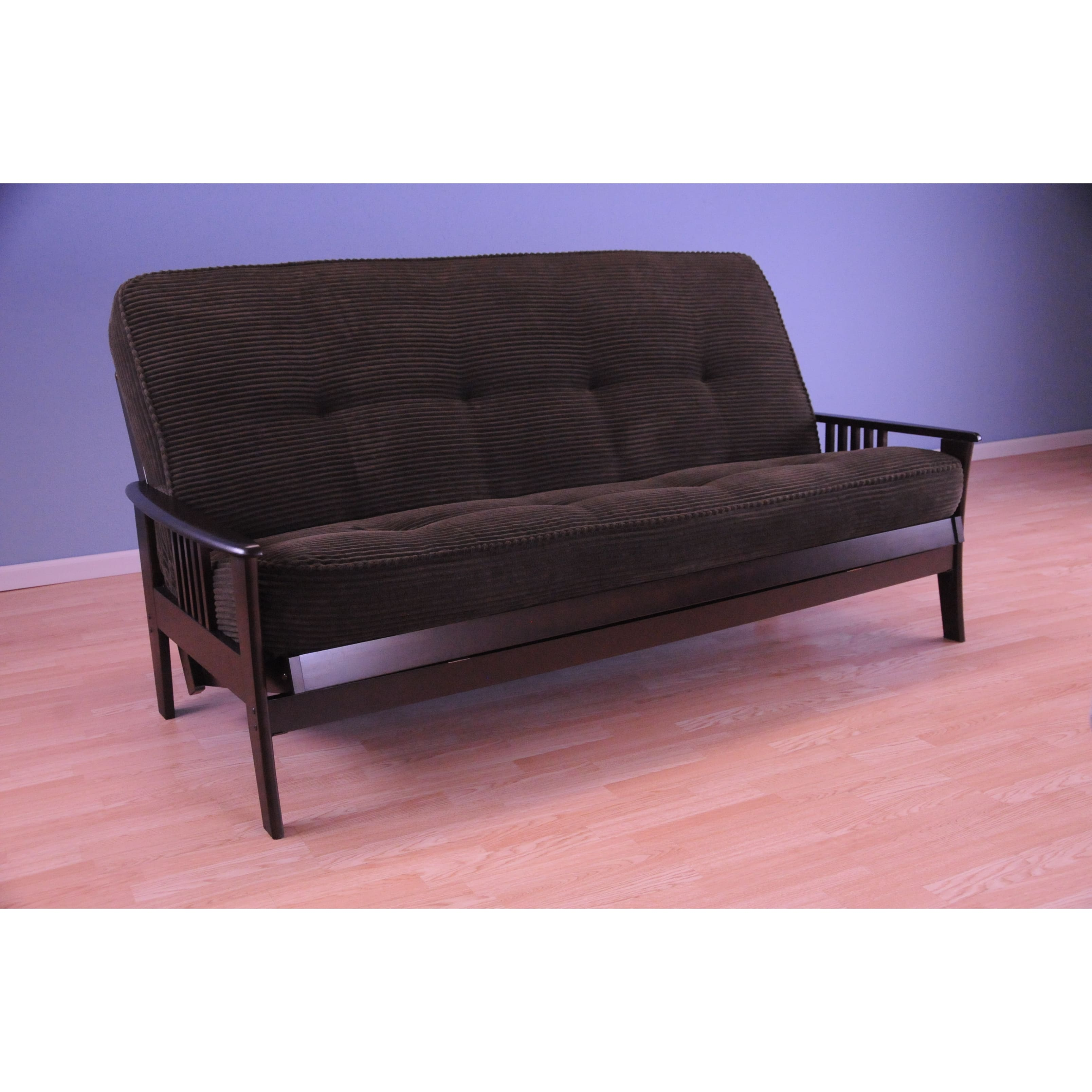 Christopher Knight Home  Capri Espresso/ Tantra Futon Mattress and Frame