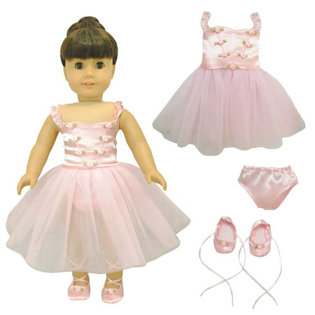 Doll Clothes - Ballet Ballerina Fits American Girl & Other 18