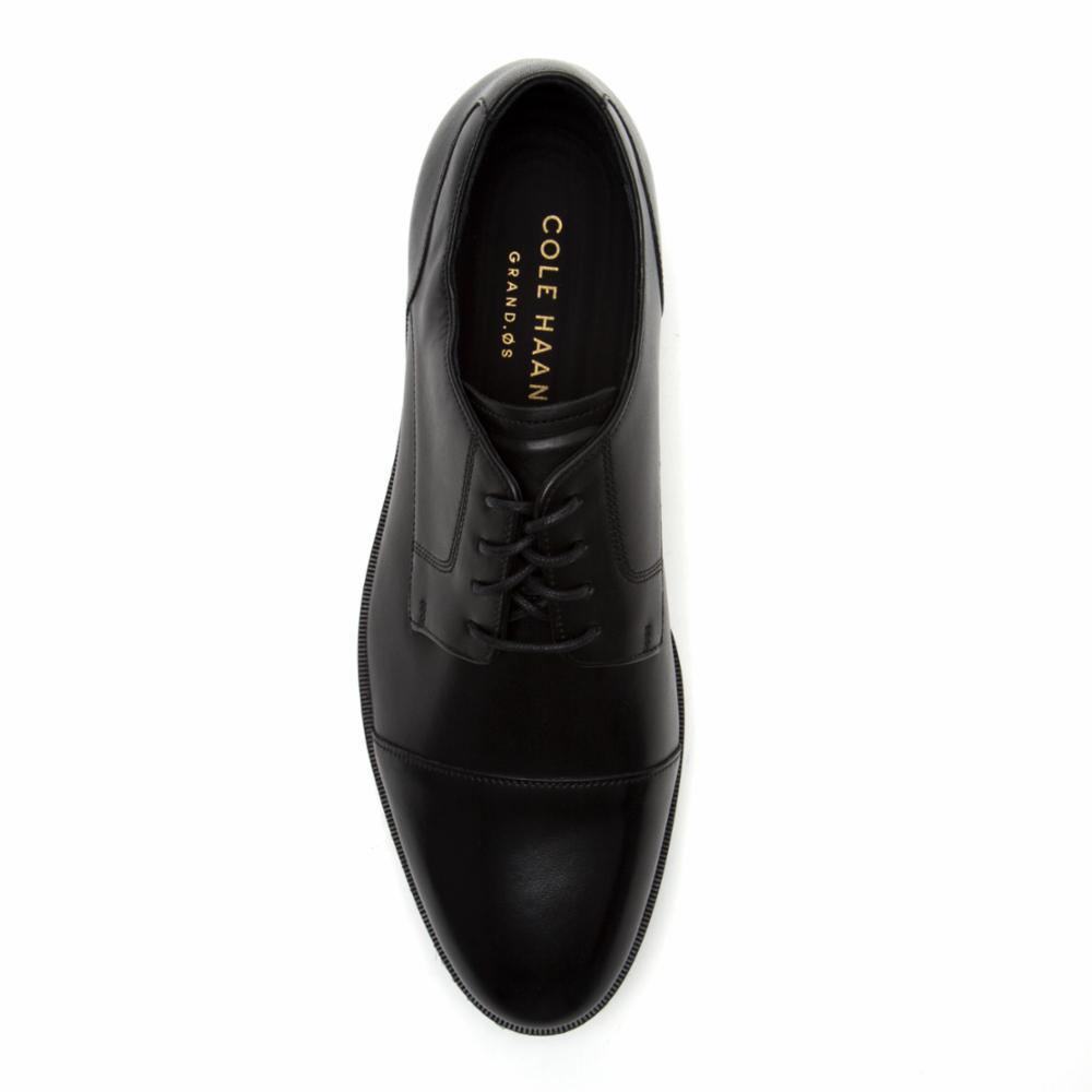 b6dc2d9ddf2 Cole Haan Men s Henry Grand Cap Toe Black Black-C24518 M
