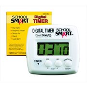 "School Smart Digital Timer, 2.75"" x 2.75"""
