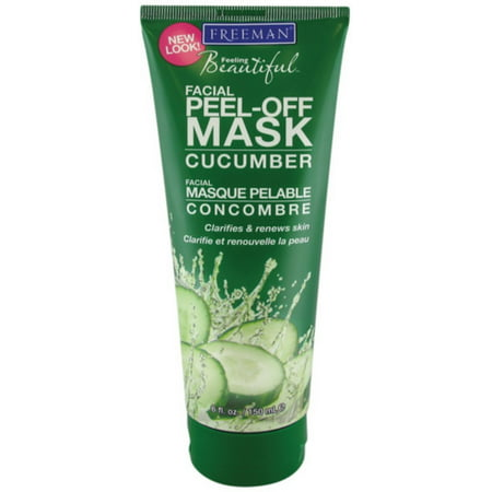 Cdg Pack - Freeman Feeling Beautiful Facial Peel-Off Mask Cucumber 6 oz (Pack of 2)