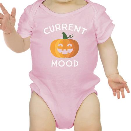 Pink Floyd Halloween Pumpkin (Pumpkin Current Mood Pink Bodysuit Halloween Costume First)