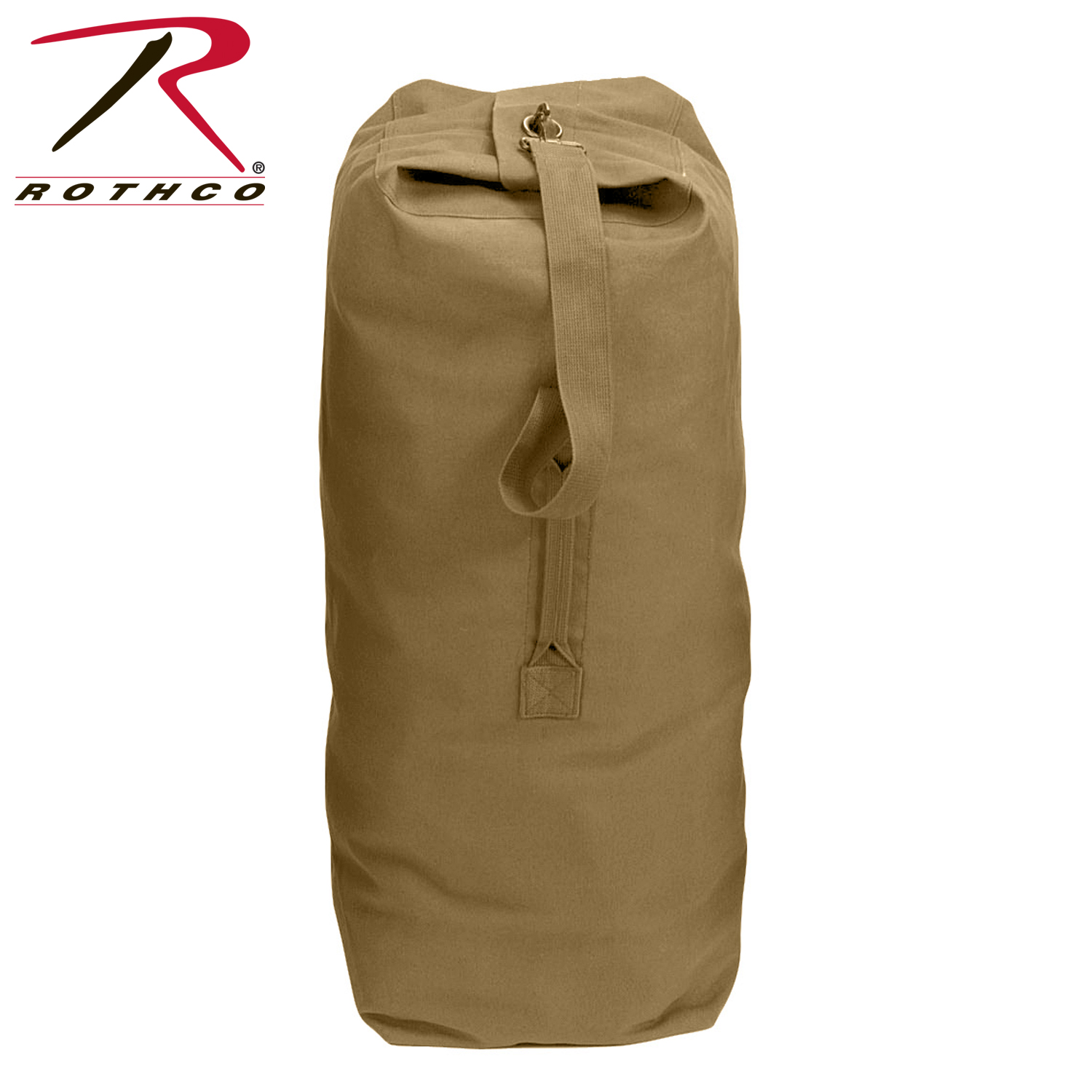 cd2611435cae Rothco Top Load Canvas Duffle Bags