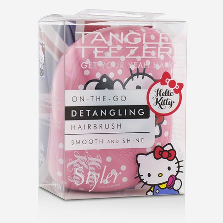 Compact Styler On-The-Go Detangling Hair Brush - # Hello Kitty - Hello Kitty Hair Brush