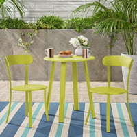 Christopher Knight Home Barbados Outdoor Bistro Set by