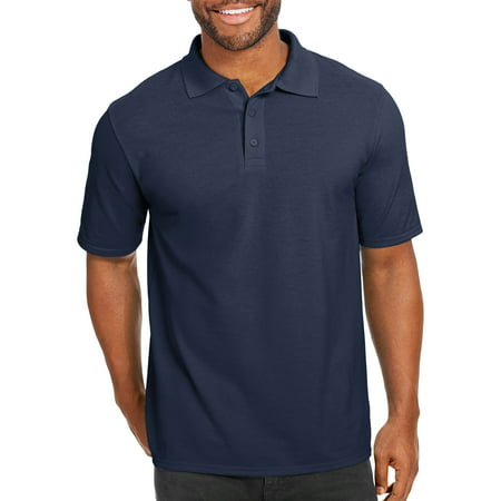 Mens Water Polo Suits - Hanes Men's x-temp with fresh iq short sleeve pique polo shirt