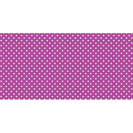 Fadeless Designs Paper Roll, Classic Dots Pink, 48 Inches x 12 (12 Double Dot Paper)