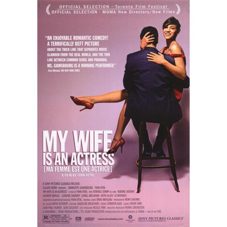 - My Wife is an Actress (Ma Femme Est En Actrice) POSTER Movie B Mini Promo