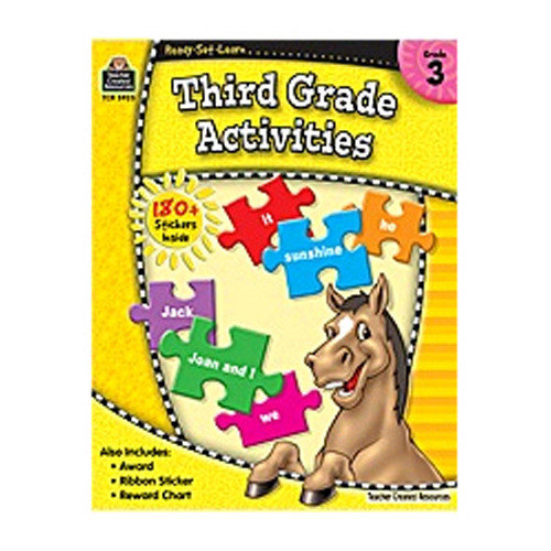 Teacher Created Resources Rsl 3rd Gr Activities Grade 3 Book (Set of 3)
