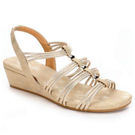 Pesaro Womens Mildred Dress Sandal - Pesaro Series
