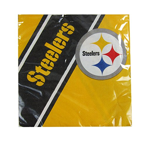 Pittsburgh Steelers Disposable Napkins