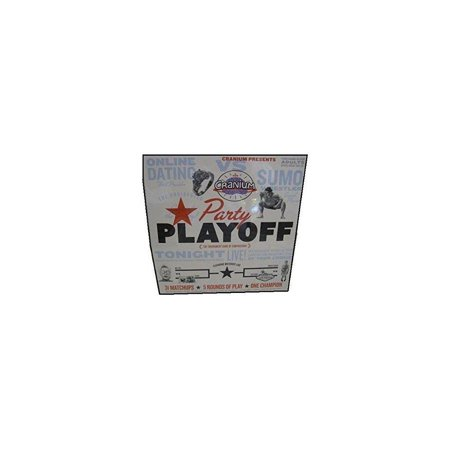 Cranium Party Playoff The Tournament Game of Comparisons For Up To 32 Players