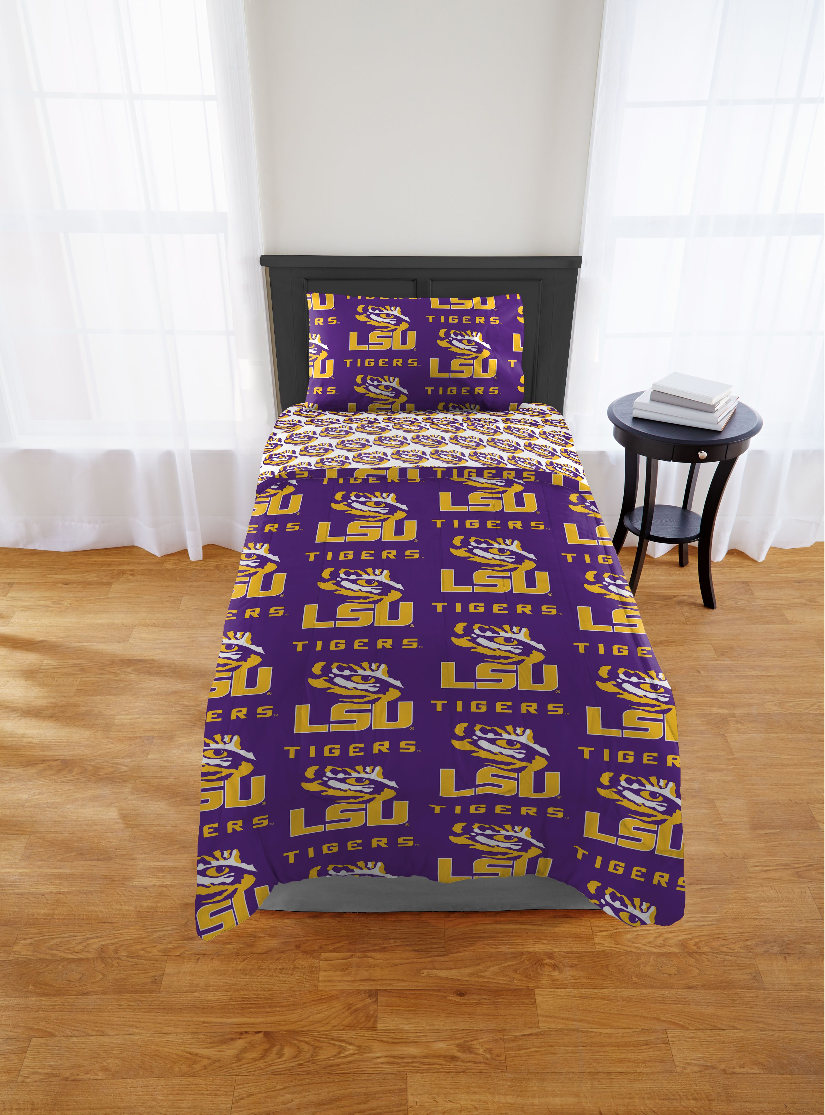 Product Image LSU Tigers Twin/Xl Bed In Bag Set