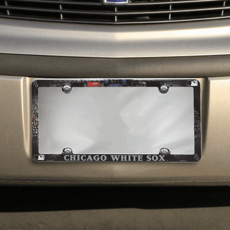 Chicago White Sox License Plate (Chicago White Sox Stadium Plastic License Plate Frame - No Size )