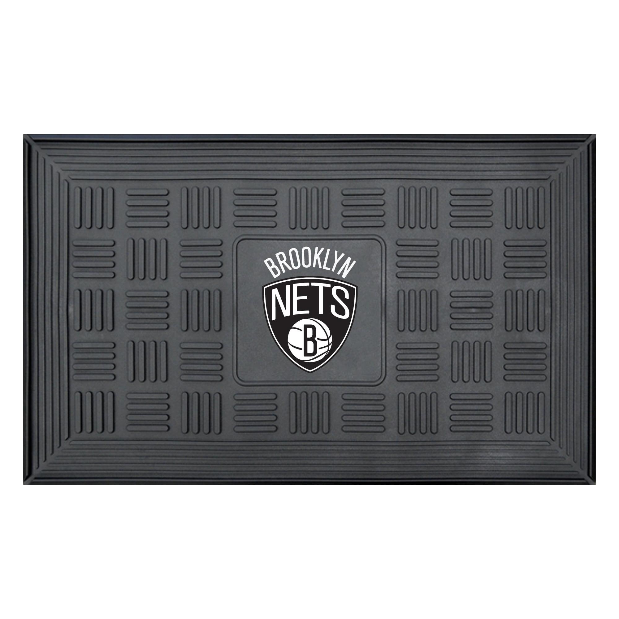 NBA Brooklyn Nets 3-D Team Medallion Vinyl Door Mat