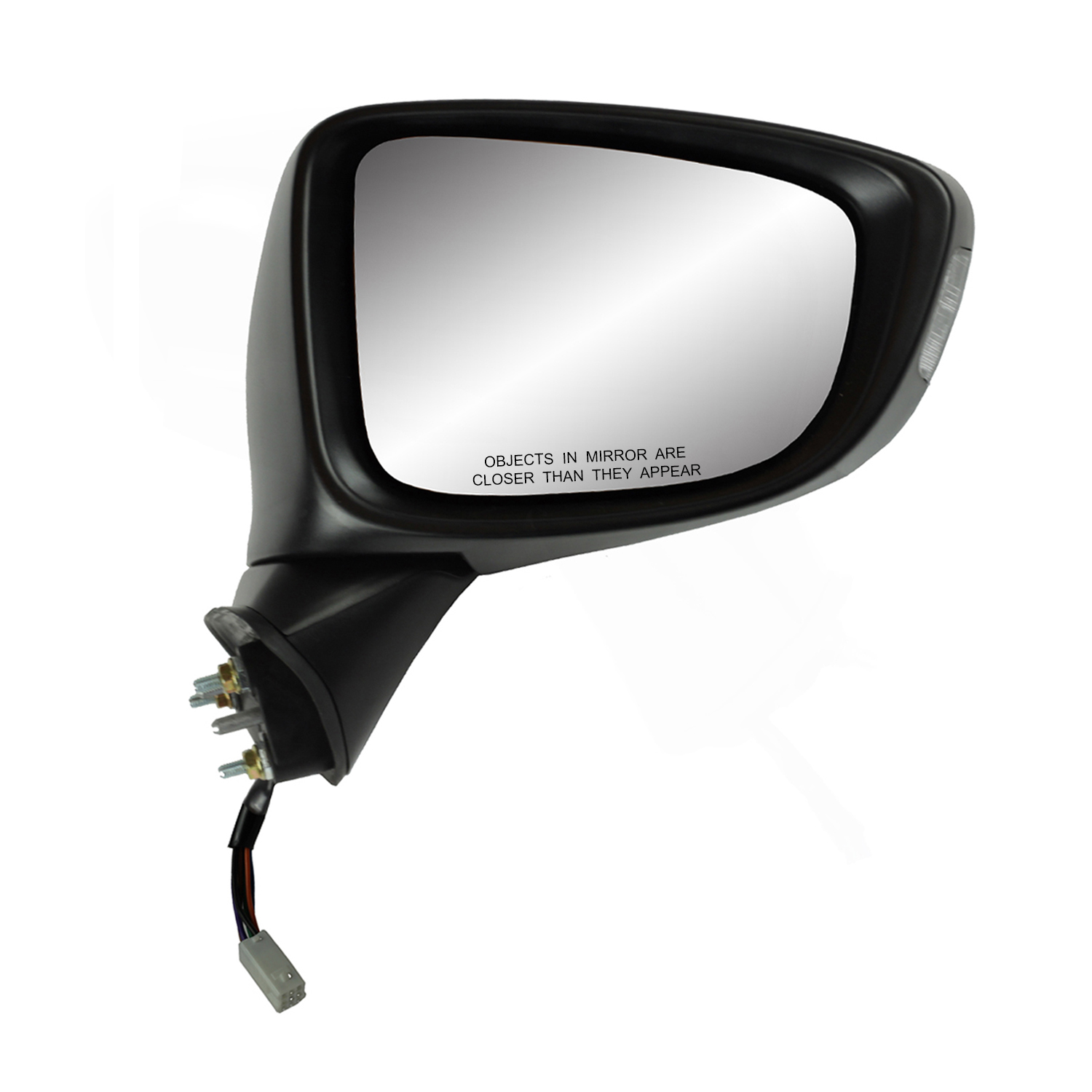 Fit System 70222T Toyota OEM Style Replacement Mirror